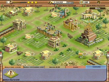 Aufbauspiel ägypten