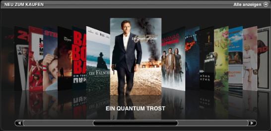 Filme im iTunes Store Deutschland