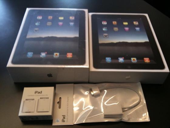iPad-Verpackungen