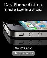 iPhone ohne Netlock und Vertrag bei Apple Deutschland?