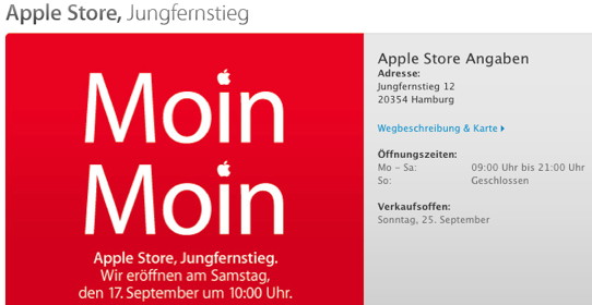 Apple-Store Jungfernstieg