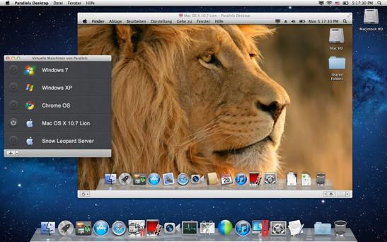 Parallels Desktop 7.0