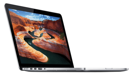 13,3-Zoll-MacBook-Pro mit Retina-Display