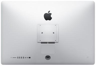 27-Zoll-iMac mit VESA-Adapter