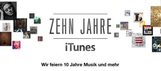 Zehn Jahre iTunes-Store