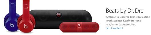 Beats-Produkte im Apple-Online-Shop