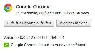 Chrome mit 64-Bit-Unterstützung