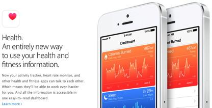 iOS 8 Gesundheits-App