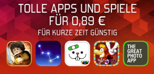 iOS-App-Store-Rabattaktion