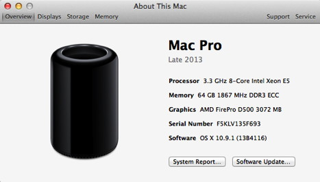 Mac Pro nach CPU-Upgrade