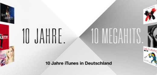 Zehn Jahre iTunes-Store in Europa