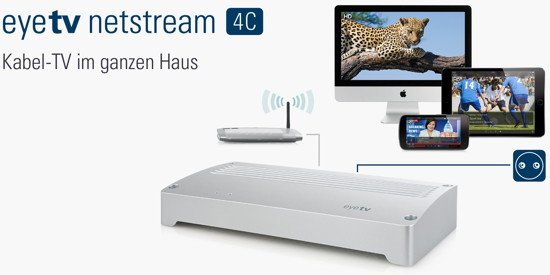 EyeTV Netstream 4C