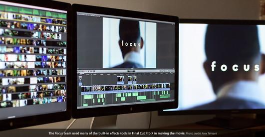 Focus: Bearbeitung mit Final Cut Pro X