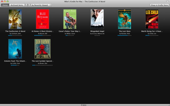 how to add books to kindle app mac