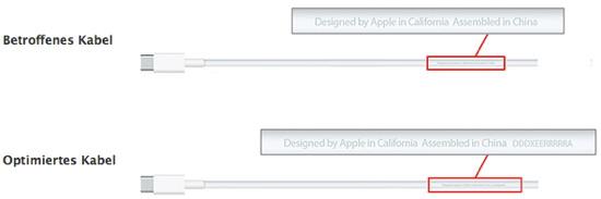 Apple: Austauschprogramm für USB-C-Ladekabel des Zwölf-Zoll-MacBooks