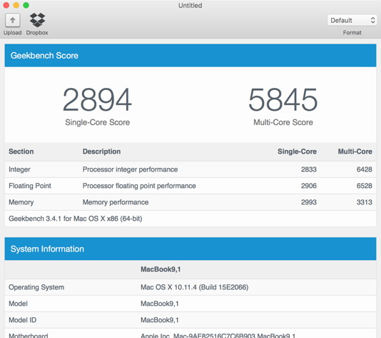 MacBook-Benchmarks