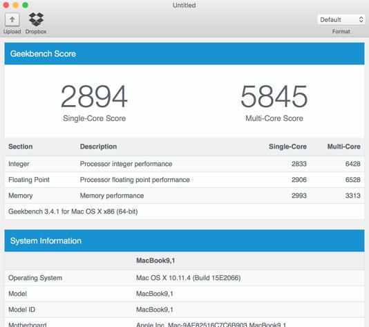 MacBook-Benchmarks