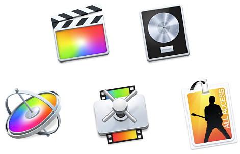 Softwarebundle von Apple