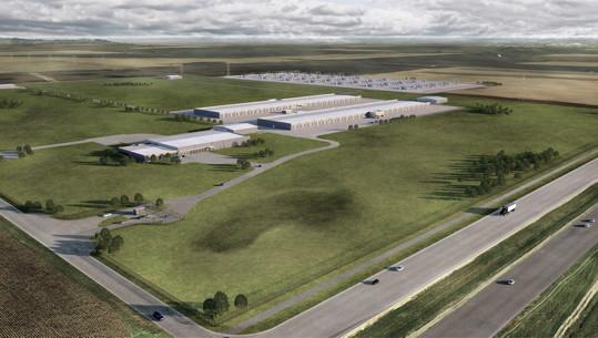Apple-Rechenzentrum in Iowa