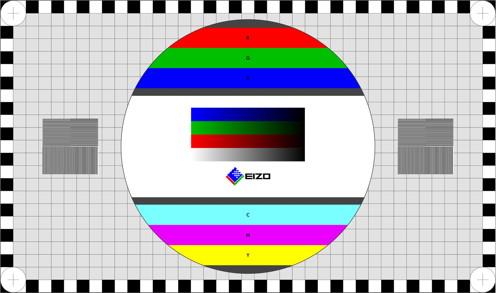 Eizo-Bildschirmtest