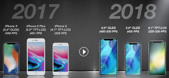 Gerücht: iPhone X Plus mit 6,5-Zoll-Display kommt 2018