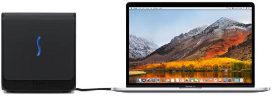 macOS High Sierra mit eGPU