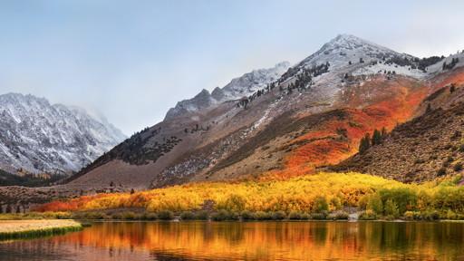 Hintergrundbild macOS High Sierra