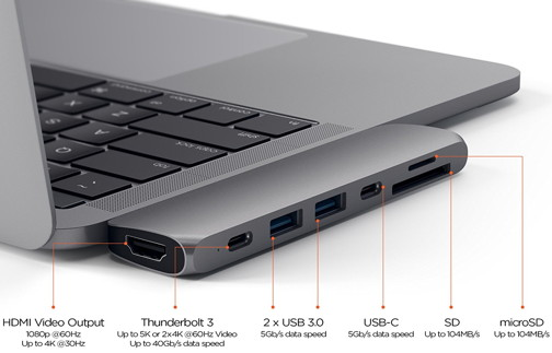 Thunderbolt-3-Dock von Satechi