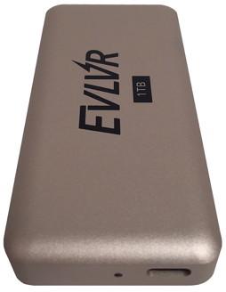 Evlvr: Schnelle SSD mit Thunderbolt-3-Schnittstelle