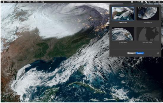 Satellitenbilder Echtzeit