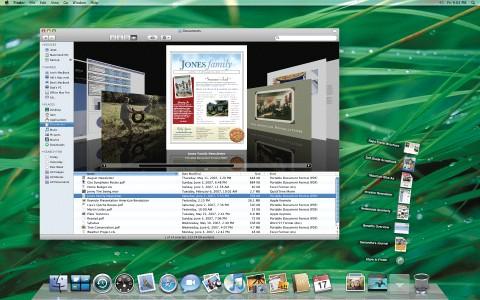 Der neue Desktop von Mac OS X 10.5