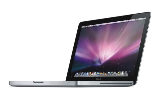 Das neue MacBook mit Aluminium-Gehäuse